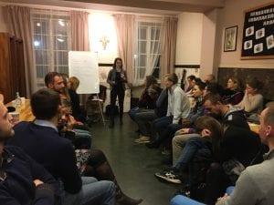 O budowaniu relacji – spotkanie z Magdą Kolańską (16.02.2017)