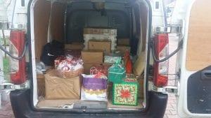 Przygotowanie paczki dla potrzebującej rodziny